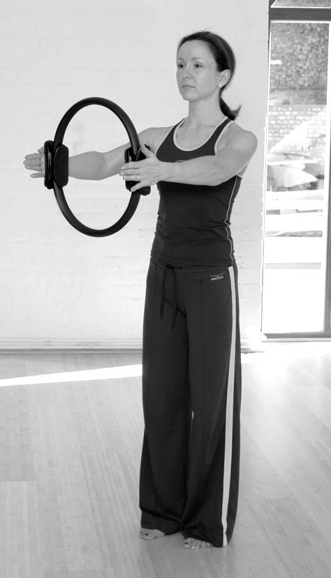 Pilates Circle Übung 1