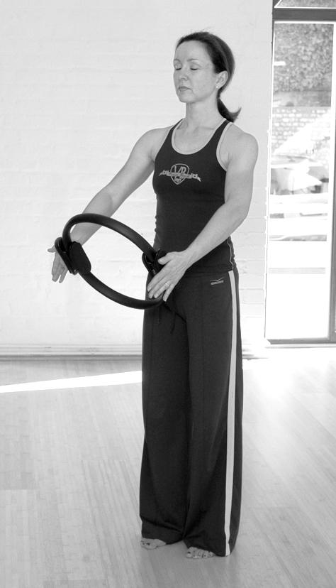 Pilates Circle Übung 2