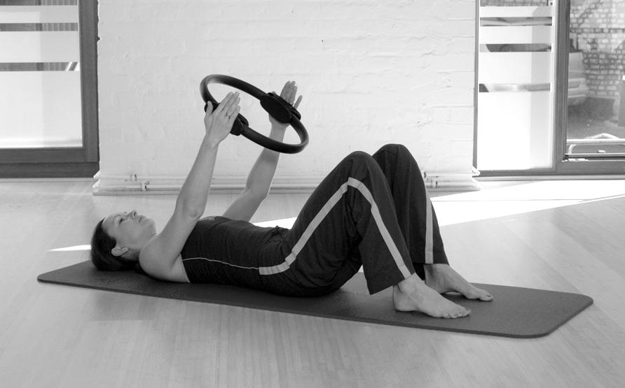 Pilates Circle Übung 4