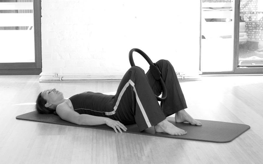 Pilates Circle Übung 8