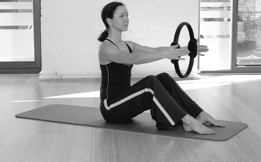 Pilates Circle Übung 14