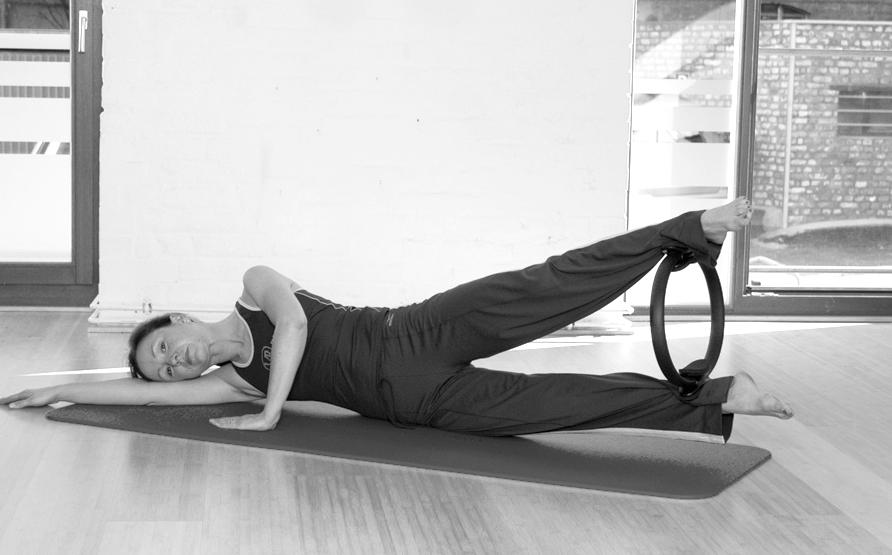 Pilates Circle Übung 18